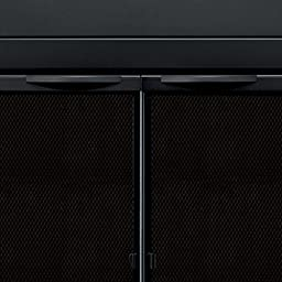 Pleasant Hearth AN-1010 Alpine Fireplace Glass Door, Black, Small