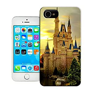 Unique Phone Case Famous scenery Cinderella Castle Hard Cover for iPhone 4/4s cases-buythecase