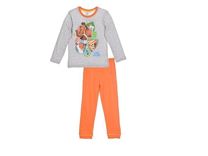 Ice Age - Pijama Dos Piezas - para niño Gris 92 cm/98 cm-