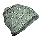 Ambesonne Unisex Beanie, Rural and Forest