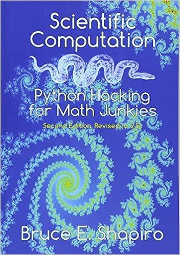 Scientific Computation: Python Hacking for Math Junkies: Amazon.es ...