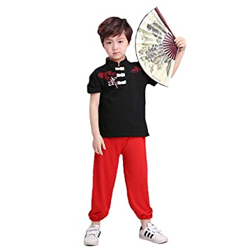 Jian E Traje de Baile - Kung Fu Chino para niños Escenario ...