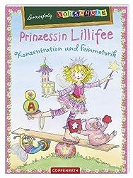 Lernerfolg Vorschule: Prinzessin Lillifee - Konzentration und Feinmotorik: (Verkaufseinheit)