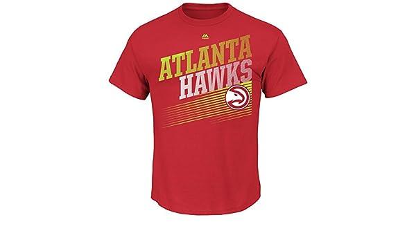 Atlanta Hawks camiseta ganar táctica camiseta de manga corta, Color del equipo: Amazon.es: Deportes y aire libre