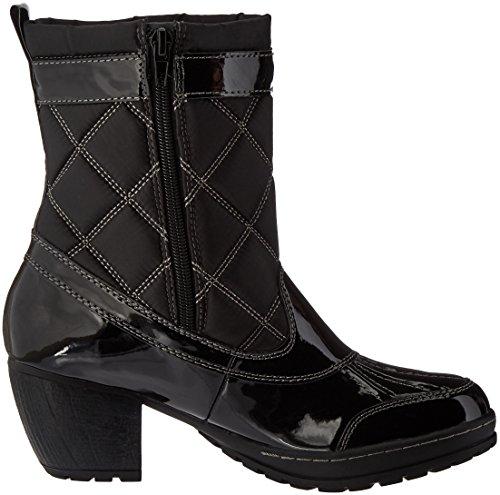 Jambu Womens Dover-vegan Rain Boot Black Patent
