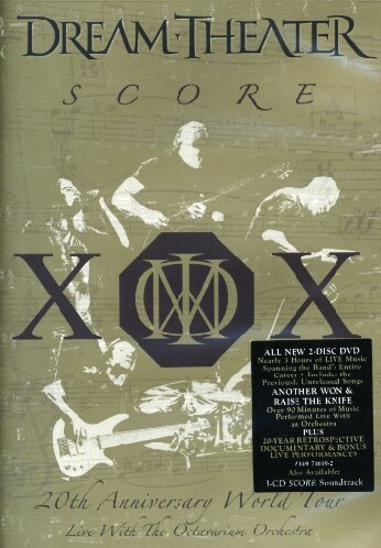 Dream Theater - Dream Theater - Score: 20th Anniversary World Tour Live With The Octavarium Orchestra - Zortam Music