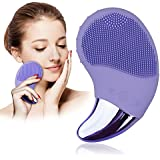 Silicone Face Brush Facial Cleaning Brush Benss Natural Silicone Face Scrubber with Eye Care for Polishing and Scrub Anti-Aging Acid Peels Reduce Acne
