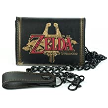 Nintendo Legend of Zelda Twilight Princess Emblem Biker Wallet With Chain
