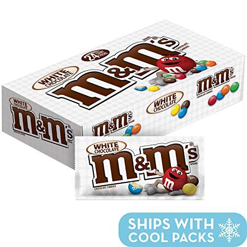 M&M's White Chocolate 1.5oz Box of 24 -