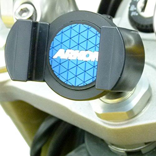 BuyBits Deluxe 13mm Bike Stem Phone Mount fits Honda CBR1000RR Fireblade (2004-2008)