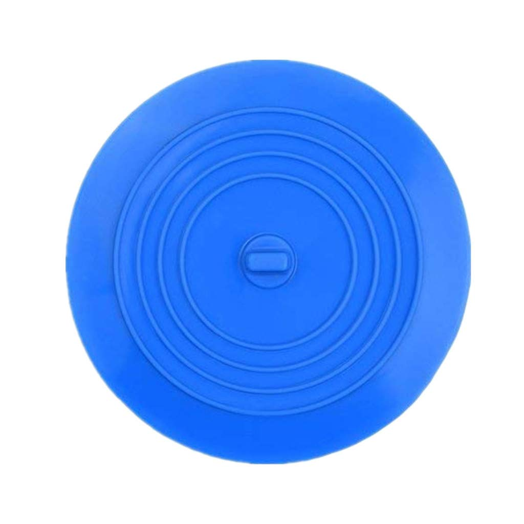 Athli Tub Stopper Silicone Drain Plug Sink Hair Stopper Flat Cover Silicone Tub Stopper Drain Plug for Kitchens by Athli Home (Image #1)