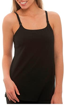 e1d43332e5 La Leche League Women s Long Nursing Cami - Ladies Breastfeeding Top ...
