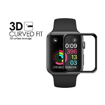 Compatible para Apple Watch 38mm Protector de Pantalla, Weideworld ...