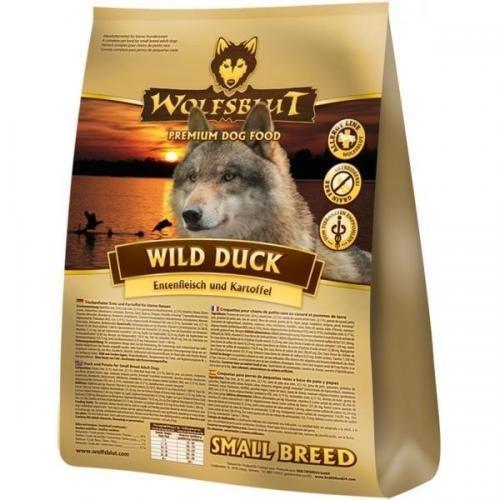 Wolfsblut Wild Duck Small Breed 2 kg, Trockenfutter, Hundefutter