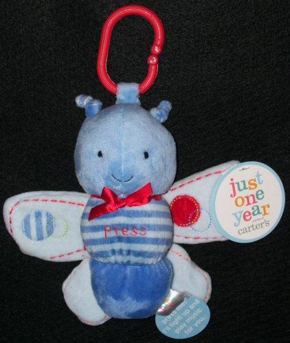 Carters Just One Year Butterfly Musical Plush