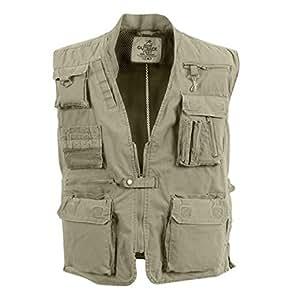 Rothco Outback Safari Vest - Khaki/4X