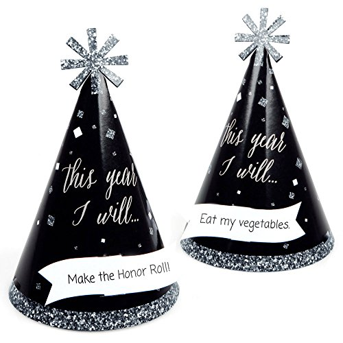 New Year's Eve - Silver - Cone New Years Eve Resolution Part