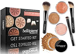 Bellapierre Get Started Face Kit- Deep