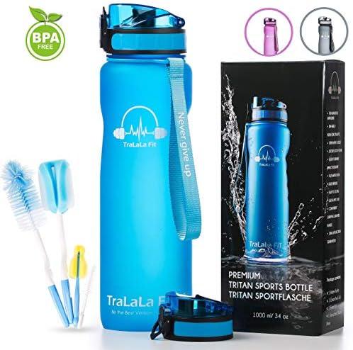 TraLaLa Fit Sports Water Bottle