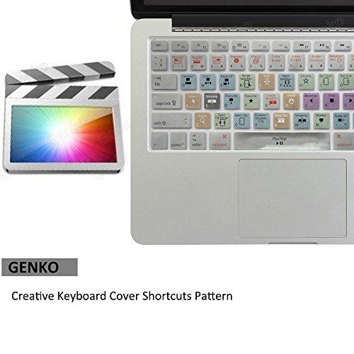 - Apple Final Cut Pro X Shortcut Keyboard Cover Mac Silicone Portector Skin For Macbook Air 13 & Macbook Pro 13 15 17, Retina (US / European ISO Keyboard) (EU/US Both)