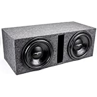 Skar Audio Dual 12 3000 Watt Subwoofer Package - Includes 12-Inch DDX Series Dual 4 Ohm Subwoofers in Ported Box