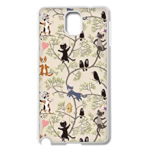 AKERCY Cute Cats Phone Case For Samsung Galaxy note 3 N9000 [Pattern-2]