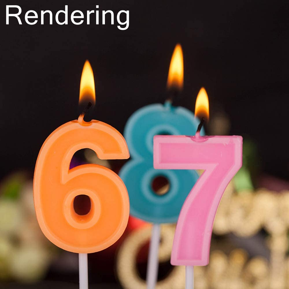 Kids Keepsake Candle Orange Party Decor Party Supplies Pizza Party Pizza Birthday Candle One Sparkly Number Cake Topper Custom