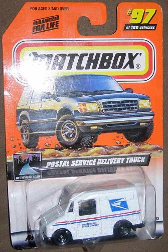 (Matchbox 1998-97 Postal Service Delivery Truck 1:64 Scale)