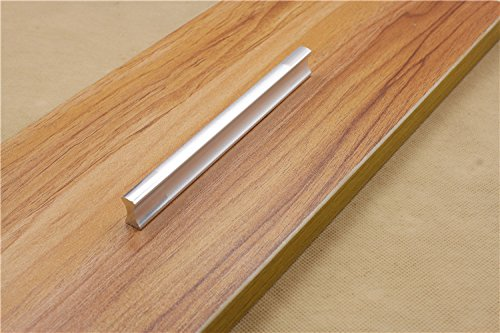 KFZ Cabinet Hardware,Modern Aluminium Alloy Door Handle Pulls,HAO-5059 Straight Furniture Knobs for Cabinets,Cupboards,Drawers dressers (5, 5.04