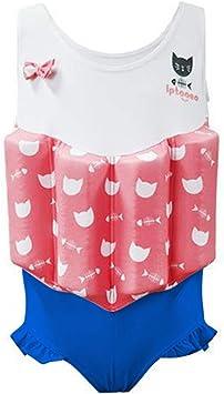 Amazon.com: Bañador flotante IvyH para niñas – Traje de baño ...
