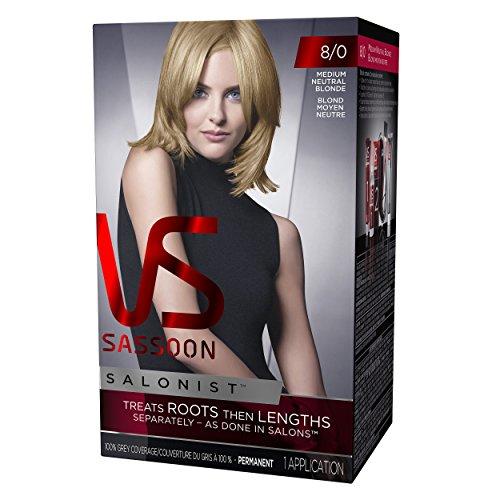Vidal Sassoon Salonist Hair Colour Permanent Kit Color 8