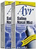 Pack of 3 EACH AYR SALINE NASAL MIST 50ML PT#225038080 [Health and Beauty]