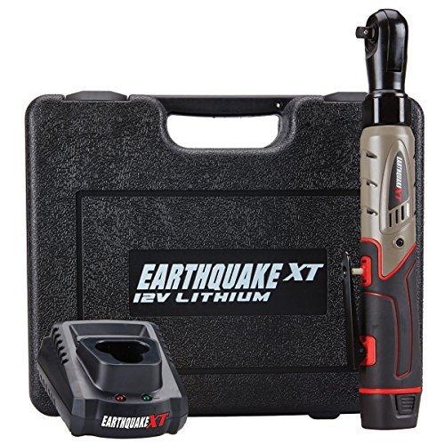 Earthquake 12V Max Lithium 3/8'' Cordless Xtreme Torque Ratchet Wrench Kit