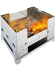 Esbit Rostfritt stål hopfällbar grill