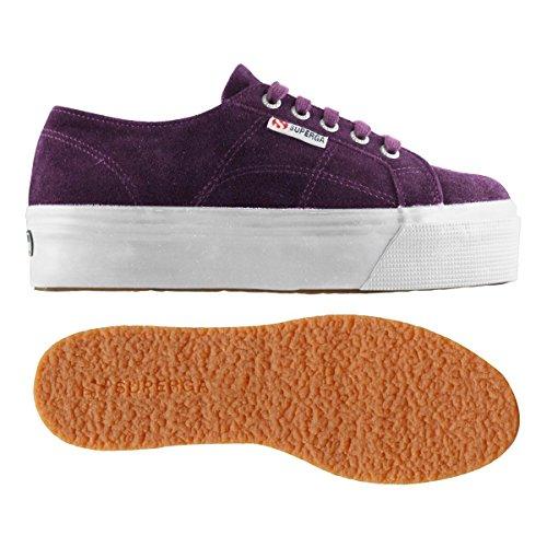 Beige Purple de Suew 2790 Femme Gymnastique Superga Chaussures 1H4qwzH