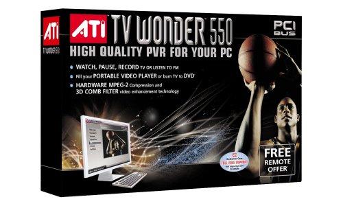 AMD ATI TV Wonder 550 PCI Video Card w/PVR