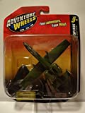 Adventure Wheels Tailwinds A-10A Thunderbolt II, Airplane, Land-Sea-Air by Maisto