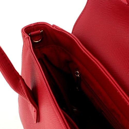 Hacer Un Pedido Borsa a Mano Barbara in Ecopelle Mantellata Rossa BA02-E17002 - Pomikaki Comprar En Línea Barata De Bajo Coste Barato En Línea vokt1
