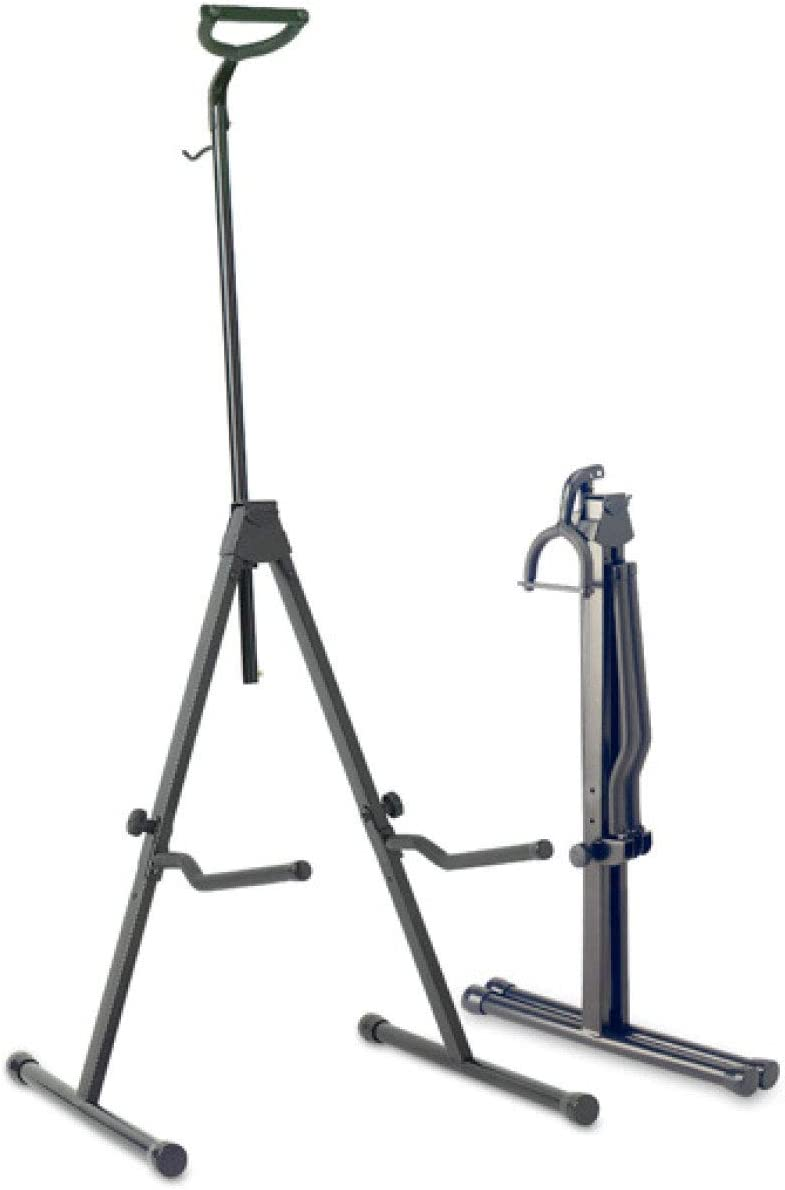 Stagg SV-CE Adjustable Foldable Stand for Cello with Hook for Bow