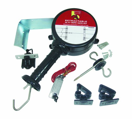 Field Guardian Retractable Rope Gate Kit, 20-Feet