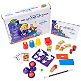 Learn & Climb Starter Magic Tricks Set for Kids - 12 Exciting Magician Items, Instruction DVD - Magic Kit Gift Set