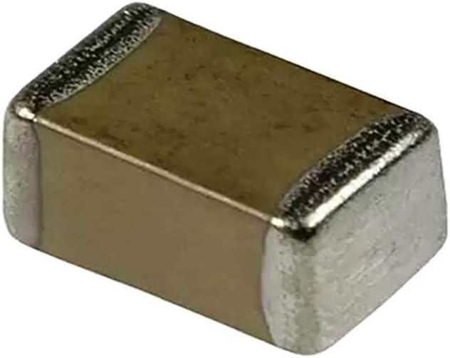 Montaje En Superficie Almencla 20 Paquete 102pF 2KV SMD Chip Capacitor Cer/ámico 1206 X7R 10/%
