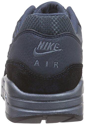 Nike Wmns Air Max 1 Premium Kvinder Livsstil Afslappet Sneakers Ny Eskadrille Blå EldSzAs7