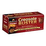 Pine Mountain 4152501500 Creosote Buster Chimney Cleaning Safety Firelog, 1 Log