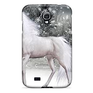 MbUweMq4975vNcLI Anti-scratch Case Cover CADike Protective Magical Winter Horse Case For Galaxy S4