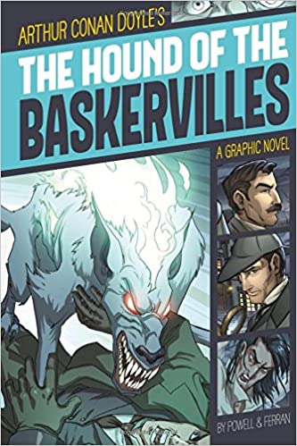 640a53dc5442f8 Amazon.com  The Hound of the Baskervilles (Graphic Revolve  Common Core  Editions) (9781496500359)  Martin Powell