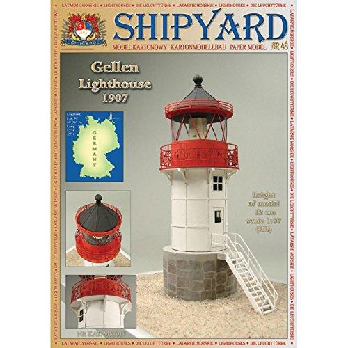 Shipyard Gellen Leuchtturm Ma/ßstab 1:87 H0