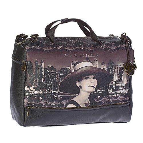 Audrey Hepburn New York - Borsa a Tracolla Tuscany - Karactermania