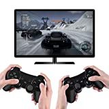 Kolopc Wireless Bluetooth Controller For PS3 Double Shock - Bundled with USB charge cord (Moss)