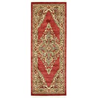 Unique Loom Serapi Collection Red 3 x 7 Runner Area Rug (2 7 x 6 7)